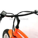 4.0 بوصة [500و] إطار العجلة سمينة كهربائيّة جبل درّاجة ناريّة مع دوّاسة بطارية - يزوّد درّاجة