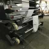 Impresora no tejida de Flexo de cuatro telas de los colores