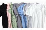 둥근 목의 남자를 위한 폴로 t-셔츠를 인쇄하는 주문 질 면 스크린
