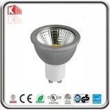 Alta iluminación del punto del lumen LED de ETL LED GU10