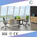 Estación de trabajo elegante del marco del metal con el pedestal móvil