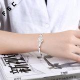 Braccialetto della Rosa placcato argento romantico dei monili di cremazione per la ragazza