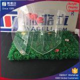 중국 심혼 모양에 있는 제조에 의하여 주문을 받아서 만들어지는 아크릴 꽃 상자