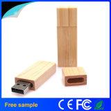Rectángulo de alta velocidad clásico disco de destello de madera del USB