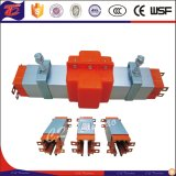 Trilhos de guia móveis da barra do cobre do sistema do condutor da potência da fonte
