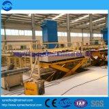 Linha de produção da placa de gipsita - planta da placa - fatura da placa da construção