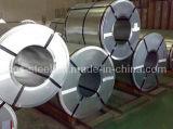 Galvanizado Anti-Finger bobina de acero / lámina de acero galvanizada Llanura