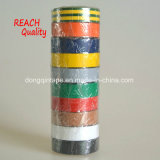 Bande de PVC de qualité d'extension pour le marché européen avec RoHS, ce reconnu (0.13mmx19mmx10m)