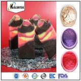 Färbt, Pigmente und farbiger Glimmer für Seife