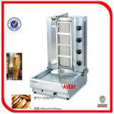 De elektrische Kip Rotisserie van de Apparatuur van Doner Kebab Shawarma voor Verkoop