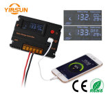 Da carga auto 10A LCD regulador do controlador 12V 24V