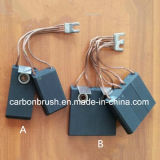 Электрическая щетка углерода GE9000 мотора электрического генератора графита
