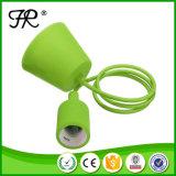 Stile della vite E27 e supporto approvato della lampada del silicone del Ce