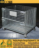 المعادن تكويم شبكة أسلاك الفولاذ البليت قفص لمستودع التخزين