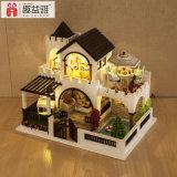 Heißes Spielzeug-Puppe-Haus des Verkaufs-DIY hölzernes für Kinder und Kinder