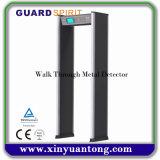Spalte-Form-Torbogen-Türrahmen-Weg durch Metalldetektor mit LCD-Bildschirmanzeige