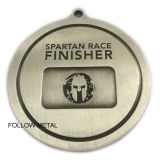 Médaille de récompense pour le module de finition spartiate de Sprint pour le cadeau
