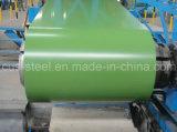 La bobine en acier enduite par couleur, Ral9002 toiture en acier galvanisée enduite d'une première couche de peinture blanche de la bobine Z275/Metal couvre des matériaux de construction