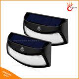8 LED-im Freien Solarsicherheits-Treppen-Licht mit Bewegungs-Fühler