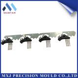 Pieza electrónica modificada para requisitos particulares del conector del alambre plástico del moldeo a presión