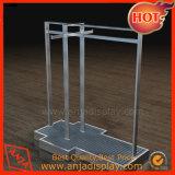 Metalluniversalbildschirmanzeige-Regal-Vorrichtungen für Kleid und Schuh