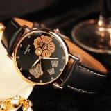 Relógio de 343 senhoras bonito resistente da água do relógio de pulso das mulheres da forma
