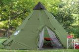防水420dオックスフォードの綿、グループのキャンプの鐘テントのインド人のテント