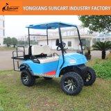 4 Seater blaues Farben-Jagd-verwanztes Golf-verwanztes elektrischer Strom-Auto