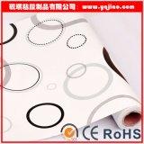 Modelo grande círculo decoración del papel pintado auto-adhesivo de PVC