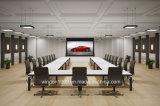 16 9 100 Tabulator-Spannkraft-elektrischer Projektor-Bildschirm-vordere Projektion des Zoll-HD