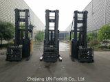 1.5ton cargador de batería carretilla elevadora doble tijeras reach camión