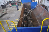 Desecho y reciclaje del esquileo de embalaje con el SGS, certificado del Ce
