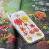 جميلة قطرة زهرة مطّاطة حقيقيّة جافّ ليّنة [تبو] هاتف حالة