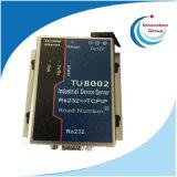 Tu8002 TCP / IP Ethernet RJ45 al adaptador serial del convertidor RS232