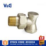 Valvola d'ottone del radiatore di controllo di scorrimento dell'acqua (VG-K17111)