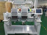 2 Köpfe Flachstickmaschine Gebrauchte Tajima Design-