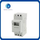 De LEIDENE van het Spoor van de Leveranciers 16A/250VAC DIN van China Programmeerbare Digitale Schakelaar van de Tijdopnemer