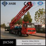 Carro Drilling del agua de gran tamaño de la perforación Jdc500 para la venta