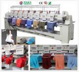 Wonyo 8 geht 9/12 Farben computergesteuerten Stickerei-Maschinen-Preis in China mit Cer, Gsg Bescheinigung voran