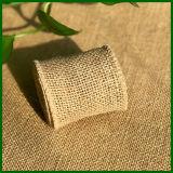 100% yute Fibra de Hesse Cloth rollo