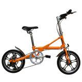16 pulgadas 36V barato plegables la mini bici eléctrica
