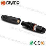 Lemoes Socekt установленное кабелем Phg. йБ. 310. Разъем Clld 9way пушпульный с резиновый ботинком для медиального приспособления