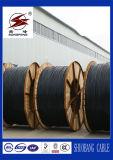 3+1 núcleos, PVC/XLPE isolaram o cabo distribuidor de corrente de baixa tensão da fita do alumínio 25mm2/cobre para a construção