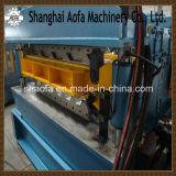 Galvanizado cubriendo el rodillo de la hoja que forma la máquina