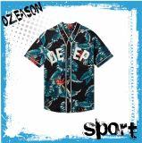 方法昇華プリント女性の野球のTシャツ(B021)