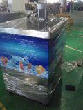 Lolly de gelo comercial que faz a máquina