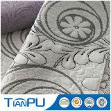 Tela polivinílica del telar jacquar del Knit de la alta calidad el 100% para el colchón del látex