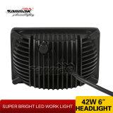 """こんにちは低いビームLED作業ライト7 """" 42W LEDのヘッドライトのヘッドライト"""