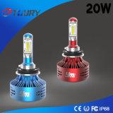 Linterna auto durante 3 años de la garantía de la fuente H8 LED de luces del coche