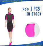 Moda Shorty Neoprene Diving Surfing Suit para Mulher